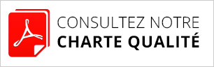 Consultez notre charte qualité